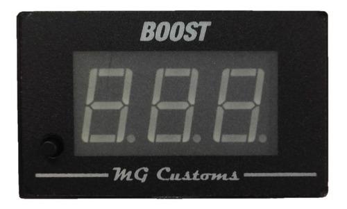 Relojo Medidor De Presión De Turbo - Boost - Mg Customs