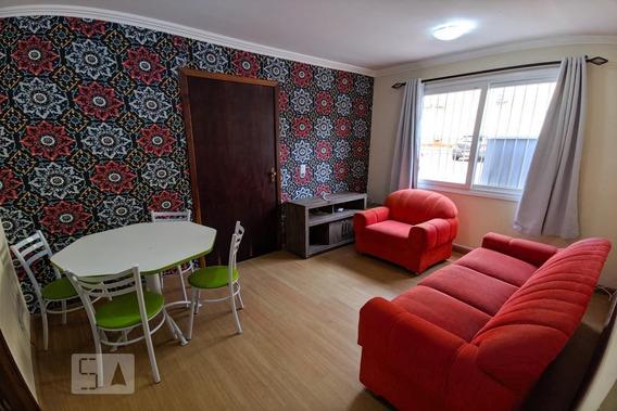 Apartamento No 1º Andar Mobiliado Com 2 Dormitórios E 1 Garagem - Id: 892958712 - 258712