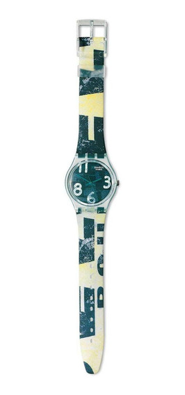 Relógio Swatch Vintage Mod.patina Gg141 - Col.out/inv. 1996