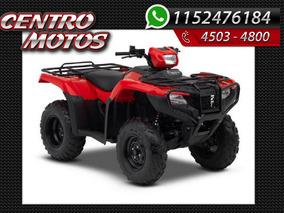 Honda Cuatriciclo 500 Fa 4x4 Autom Promo Efect.trx Fourtrax