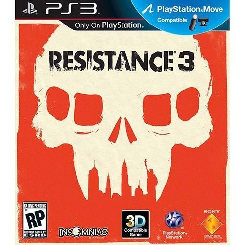 Resistance 3 Ps3 Mídia Física Seminovo