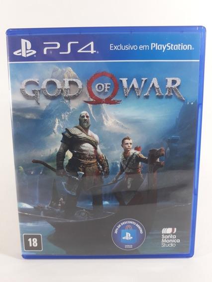 Jogo God Of War 4 Ps4 Mídia Física Frete 12,00