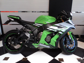 Kawasaki Zx10 R 2015 Serie 30 Anos Verde