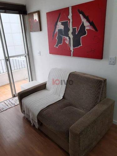 Imagem 1 de 15 de Apartamento  1 Quarto  40 M² - V. R$ 490.000 Our$ 2.100- Bela Vista -sp - Ap4552