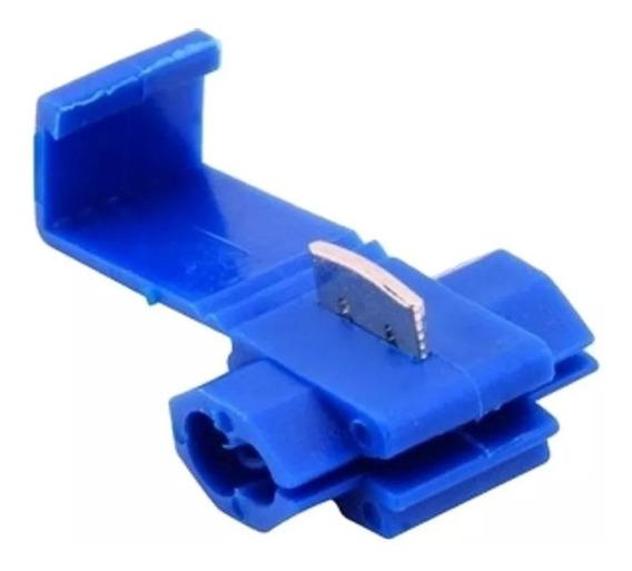 Conector Derivação Emenda Cabos Fios 1,5 A 2,5mm (100 Pçs)