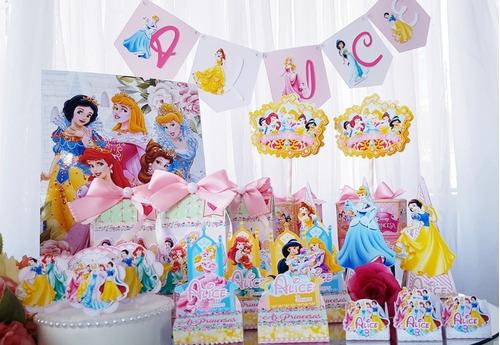 Kit Personalizado 50 Itens - Princesas Ii