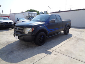 Ford F-150 3.7 Xl Cabina Y Media 4x2 Mt 2014 Negro Profundo