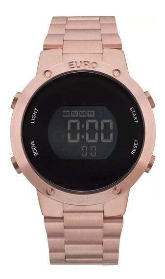 Relógio Euro Rose Gold Digital Eubj3279af/4j