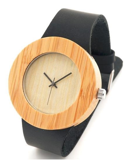 Relógio Feminino C08 Bambu Anal. Bobo Bird