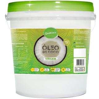 Óleo De Coco Virgem Balde 10kg Qualicôco