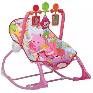 Silla Vibradora Para Bebe Mecedora Musical 4 En 1