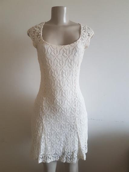 Vestido - Renda - Off White