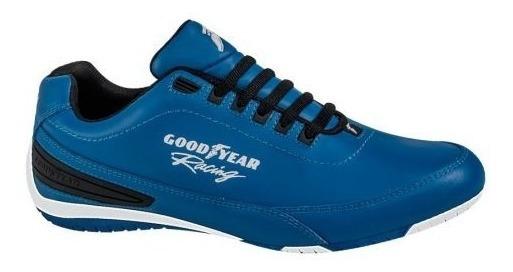 Tenis Goodyear Racing 3821 D168383 Azul Hombre Msi
