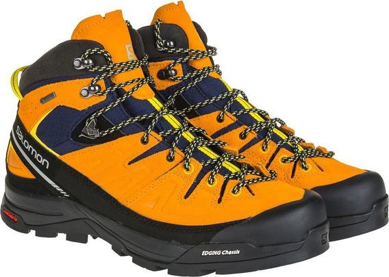 Botas Salomon X Alp Mid Ltr Goretex Montaña Senderismo Nieve
