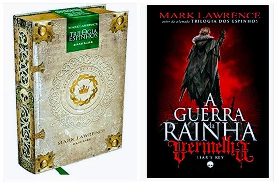 Livro Trilogia Dos Espinhos + A Guerra Da Rainha Vermelha