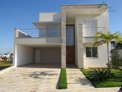 Casa Residencial À Venda, Residencial Portal Do Lago, Sumaré. - Ca0333