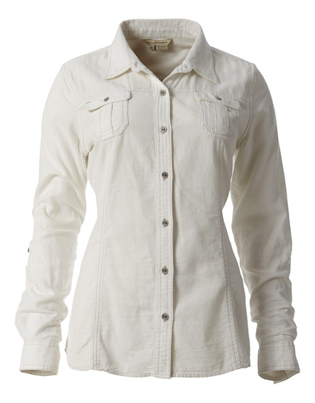 Blusa Mujer Cool Mesh Beige Royal Robbins By Doite