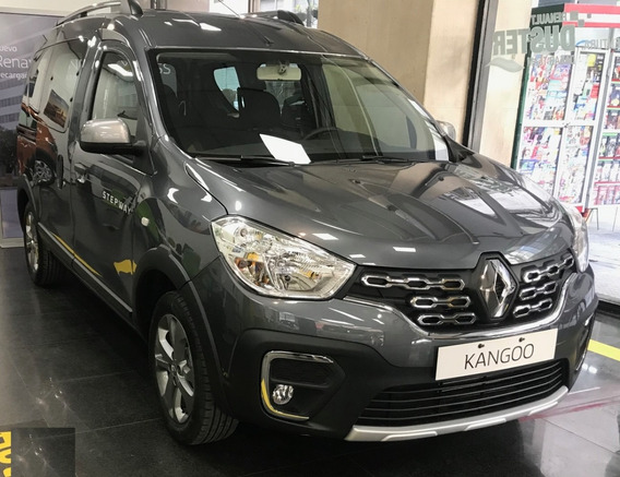 Renault Kangoo Stepway 2019 1.6 0km Usada Sportway Gnc 2018