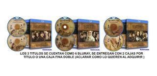 9 Bluray El Señor De Los Anillos/el Hobbit Versión Extendida