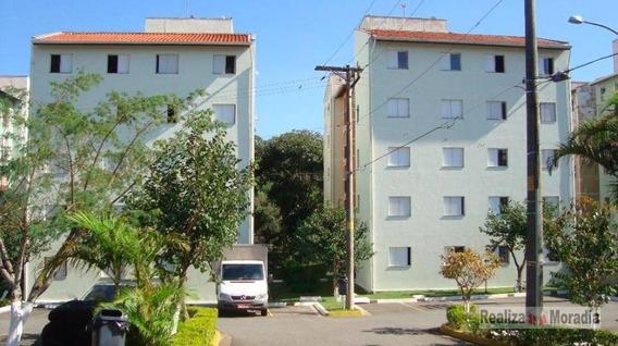Apartamento Com 2 Dormitórios 48 M² Por R$ 185.000 - Granja Viana - Sp - Ap0782