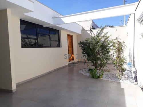 Imagem 1 de 23 de Casa Com 3 Dormitórios À Venda, 167 M² Por R$ 700.000 - Jardim Claret - Rio Claro/sp - Ca0351