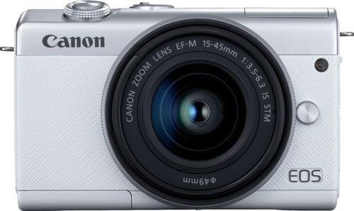 Cámara Digital Canon Con Zoom Ef-m 15-45 Mm- Color Blanco