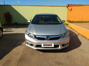 Honda Civic Lxr Completissimo Com Câmera De Ré