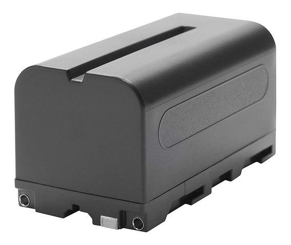 Bateria Np- F970 Para Camera Série E Iluminadores De Led