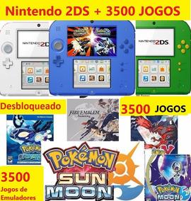 Nintendo 2ds + 3500 Jogos + Emuladores + 64gb Classe 10