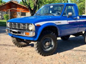 Toyota Hilux 4x4 1980 De Coleccion.