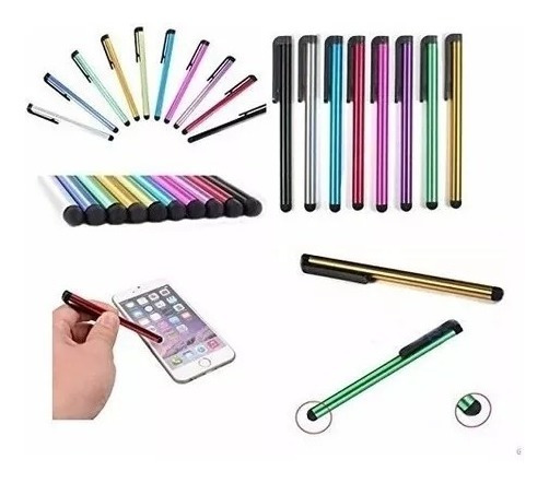 Kit 30 Canetas Touch Screen Para Smart Phone, Tablets Etc