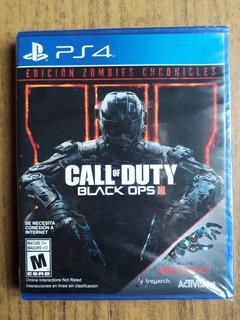 Call Of Duty Black Ops 3 Edición Zombies Sellado En Español