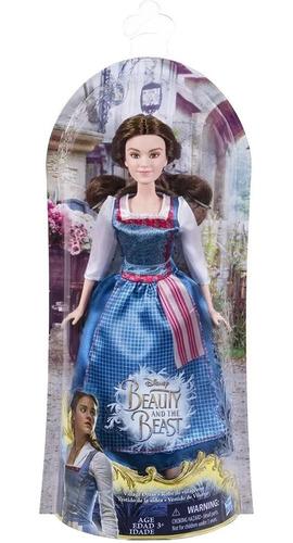 Muñeca Bella Y Bestia Disney Princesas Vestido Aldea Hasbro