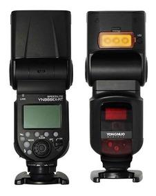Flash Yn-968ex-rt + 4 Eneloop Pro - Canon