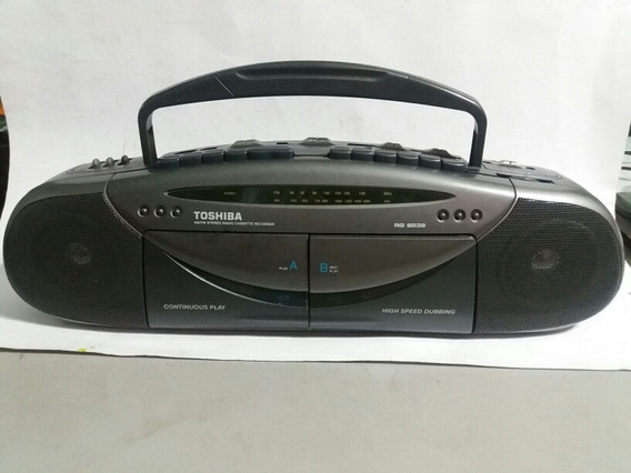 Boombox Toshiba Am/fm Cassette