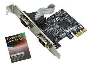 Tarjeta Pci Express Pci-e Db9 Rs232 / Impresora Escaner