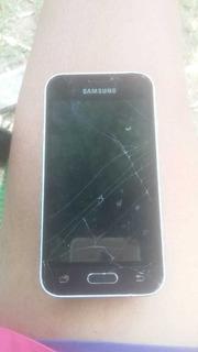 Celular Samsung J1 Mini Usan Pin Roto Y Pantalla Astiilada