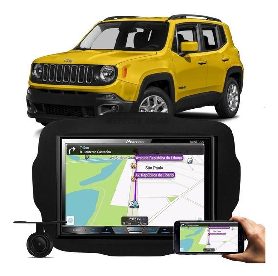 Central Multimidia Pioneer Jeep Renegade Tv Camera Bluetooth