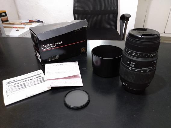 Lente Sigma Dg 70-300 Macro Para Nikon