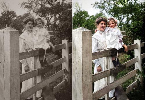 Restauração E Colorização De Fotos
