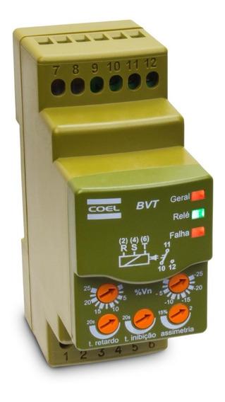 Monitor Falta Sequência Fase Mín. Máx. Tensão Bvt 380v Coel
