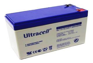 Batería Recargable 12v 7.2ah, Ultracell Diacon