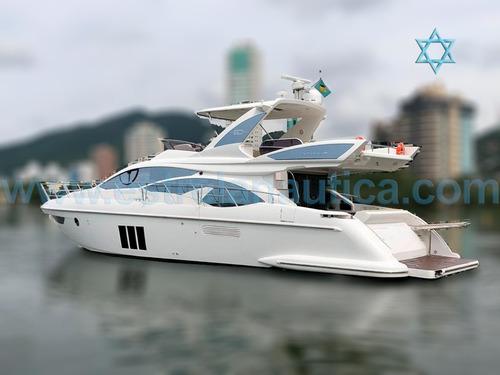 Lancha Azimut 60 Barco Iate N Ferreti Cimitarra Intermarine