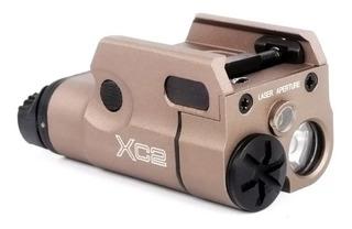 Lanterna Tática Xc2 Trilho 20mm Airsoft Paintball