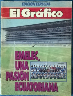 Revista El Gráfico Emelec 1991 - Muy Buscado