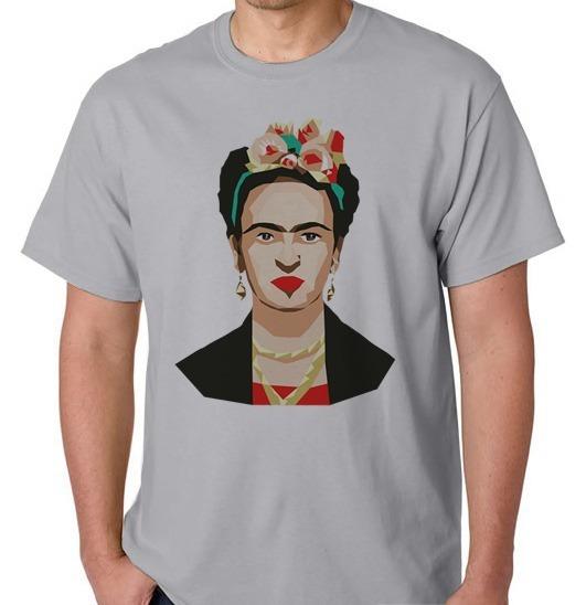 Camiseta Camisa Blusa Feminina Masculino Frida Kahlo Pintora