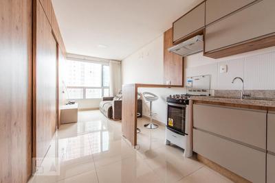 Studio No 14º Andar Mobiliado Com 1 Dormitório E 1 Garagem - Id: 892906859 - 206859