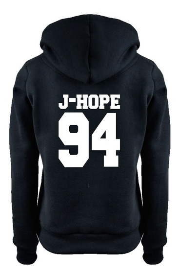 Moletom Bts J-hope 94 Blusa Moleton Kpop Army Fã + Brinde