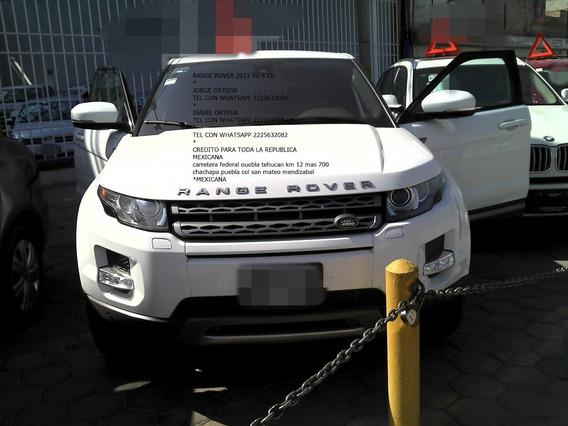 Land Rover 2013 Evoque Ranger Rover Pure Enganche $ 85,000