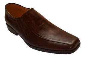Promoción Zapato Cafe Elegante Hombre 100% Puro Cuero